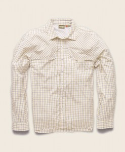 Chemise Pescador Cornmeal Yellow Howler Bros - Le Mouching Shop