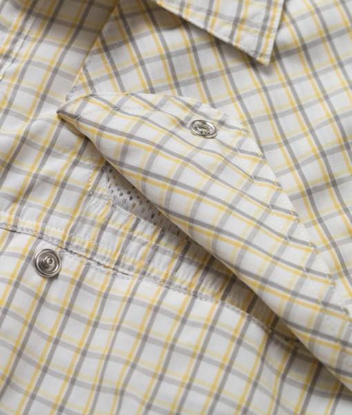 Chemise Pescador Cornmeal Yellow Howler Bros - Le Mouching Shop