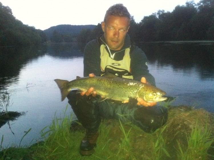 Vincent Magne, saumon, Dordogne, Argentat