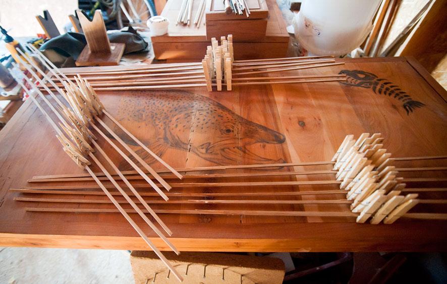 Preaching bamboo le mouching - Fabriquer une echelle en bambou ...