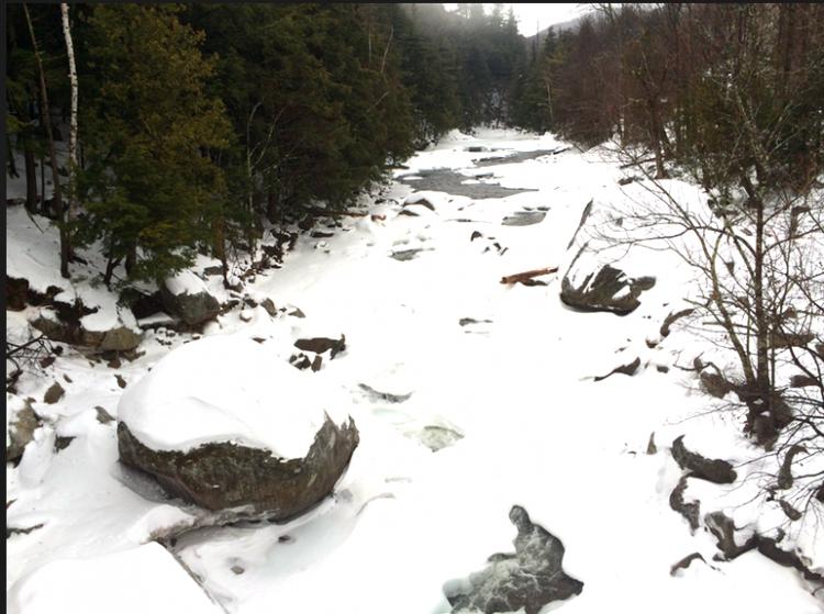 Adirondacks Frozen