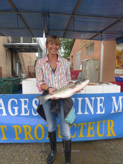Le mouching, fly fishing, carole
