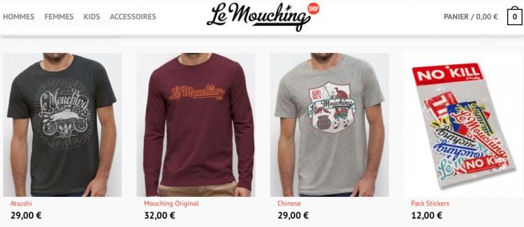 Mouching shop