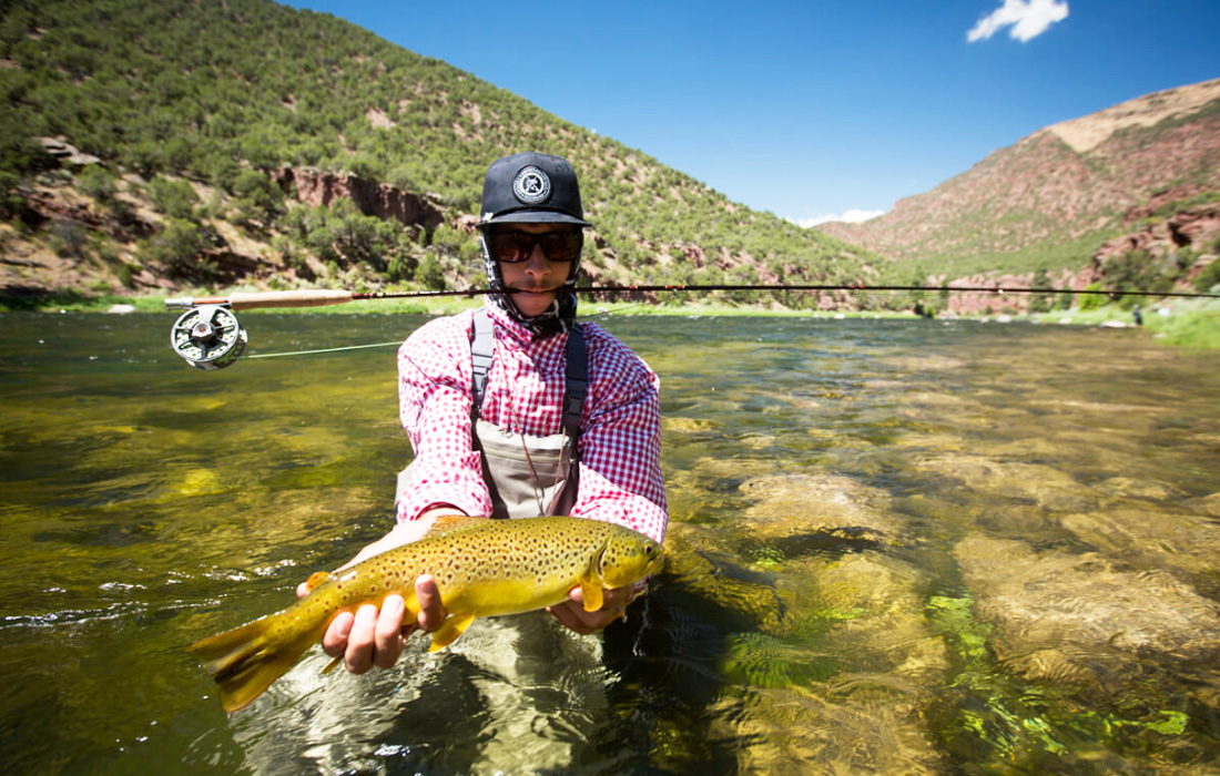 Green river le mouching for Fly fishing green river utah