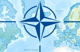NATO-logo-and-map-of-the-Atlantic